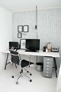Industrial workspace : home office : workspace inspiration