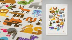 Wee Society: Wee Alphas (13-Color!) Limited Edition Screen Print