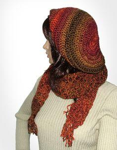 Crochet Hat & Scarf Set