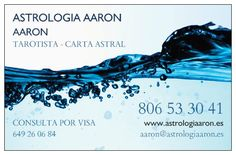 Astrologia Aaron - Tarot