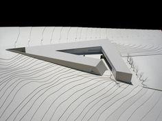 Museum+and+Archive+–+Jabotinsky+Center, architectural model, modelo, maquette