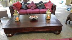 Kiaat table http://www.woodworker.co.za/listing/kiaat-patio-table/
