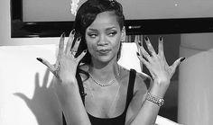 """Bad Gal RiRi is… Bad Gal NO MORE? Rihanna says she's become a """"square. Rihanna Nails, Rihanna Riri, Rihanna Style, Grow Nails Faster, How To Grow Nails, Girl Bands, Nail Polish Hacks, Nail Growth, Dry Nails"""