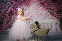 Made to order white tutu gown full length by AdoraBowsByLeilaHale