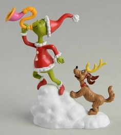 Seuss How the Grinch Stole Christmas Grinch And Max, A Toot - Boxed Grinch Stole Christmas, Christmas Dog, Christmas Holidays, Christmas Classics, Merry Christmas, Christmas Gifts, Christmas Decorations, Christmas Ornaments, Holiday Decor