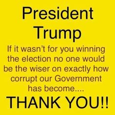 All the SWAMP creatures are being exposed thanks to you. you have done some positive things. Political Quotes, Political Views, Stupid People, We The People, Trump We, Pro Trump, Vote Trump, Donald Trump, Trump Is My President