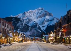 Banff National Park Winter Landscapes | 1118118571_2011postcards_0008-1198528867-o.jpg