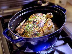 Helstekt färsk dragonkyckling med gräddsås Lchf, Broccoli, Pork, Anna, Turkey, Food And Drink, Meat, Chicken, Kale Stir Fry