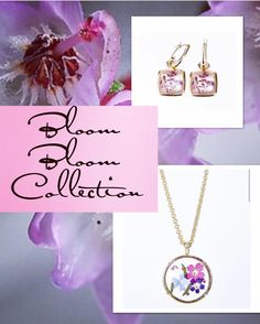 Did you ever imagine an #elegant collection of #jewelry with the essence of #romance #beauty and #healing powers all in one! Erwin Pearl introduces the New Bloom Bloom Collection just in time for #mother'sday. Meticulously hand crafted in the #USA held Real Hand Pressed Flowers of Verbena symbolically used for healing and happiness and are even used for protection against harm and evil. The Heather Flowers symbolize admiration, good luck and protective power #miami #orlando…