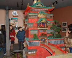 Architecture museum's Ghibli exhibition a major hit in Koganei Spirited Away Bathhouse, Microsoft Office, Animation Film, Totoro, Animal Crossing, Legos, Entertaining, Cool Stuff, Drawing Stuff