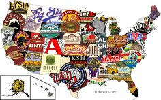 Craft Beer Map! Very very cool. What brewery do you think should represent your state?