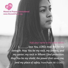 A scripture prayer for you!