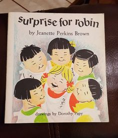 SURPRISE FOR ROBIN by Jeanette Perkins Brown 1967 Paperback Children's Japanese