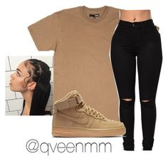 """Untitled #450"" by qveenmm on Polyvore featuring NIKE"