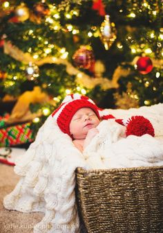 Christmas Newborn Photography Session