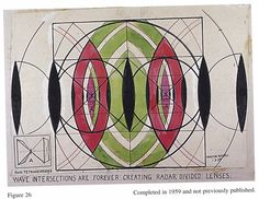 Wave Intersections Are Forever Creating Radar Divided Lenses - Walter Russell 1959 | Flickr - Photo Sharing!