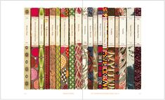 penguin books will forever make me swoon.. <3  *sigh, such lovely patterns.