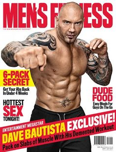 Muscle and Fitness magazine Dave Bautista WWE wrestling stars Best foods Biceps Muscle Food, Muscle Fitness, Mens Fitness, Health Fitness, Dave Bautista, Big Biceps, Wrestling Stars, Feel Fantastic, Amazing