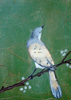 simply-divine-creation: Painting by Nancy Kremiller Believe | Print