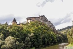 Castle situated upon river Orava. Place where one of first Dacula movies (Vampire from Nosferat) were filmed. Adventure Travel, Monument Valley, Castle, Culture, River, Film, Places, Movies, Pictures