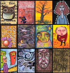 ATC Cards | Artist Trading Cards and Artcrossing