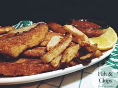 Fish and Chips | recipe from Living the Gourmet