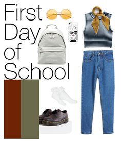 """""""#backtoschool#cheap-but-gold #stylishstudent"""" by joe-khulan on Polyvore featuring A.L.C., Dr. Martens, Miss Selfridge, Casetify and Mulberry"""