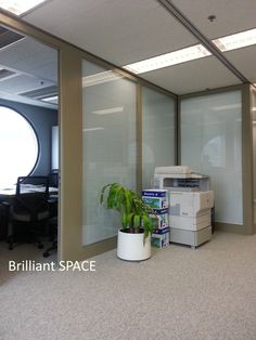 Glass System Wall 怡和大廈 (厚框雙層清玻璃屏風-內置百葉 Double Clear Glass Panel with blind) 12