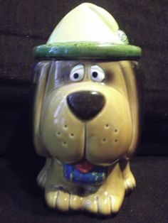"VINTAGE JAPAN COLLECTIBLE COOKIE JAR "" DOG """
