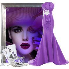 Designer Clothes, Shoes & Bags for Women Purple Love, Mary Katrantzou, South Beach, Polyvore Outfits, Shoe Bag, Collection, Design, Women, Accessories
