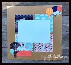 Pink Buckaroo Designs: Lift Me Up and Carried Away Stamp Club Projects