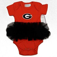 University of Georgia Bulldogs Circle G Newborn Infant Baby Varsity Jacket