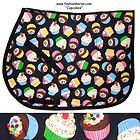 Cupcakes English Saddle, Saddle Pads, Tack, Print Design, Cupcakes, Horses, Children, Cute, Young Children