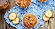 30 perces banános, zabpelyhes muffin - Igazi fogyókúrás álomsüti - Recept | Femina Kaja, Cake Cookies, Paleo, Healthy Recipes, Healthy Meals, Muffins, Sweets, Cooking, Breakfast