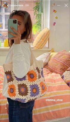 Mode Crochet, Knit Crochet, Mode Outfits, Trendy Outfits, Crochet Clothes, Diy Clothes, Crochet Designs, Crochet Patterns, Mode Hipster