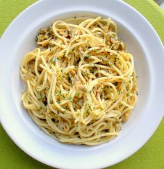 Spaghetti with Clam Sauce - A small batch