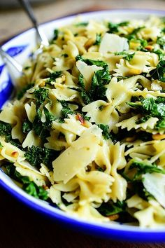 Kale Pasta Salad (parmesan cheese, balsamic vinegar) | the pioneer woman