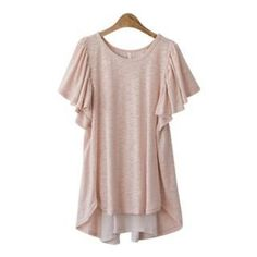 £29.95 Buy 'PEPER – Fluttered-Sleeve Chiffon-Back Top' with Free Shipping at YesStyle.co.uk. Browse and shop for thousands of Asian fashion items from South Korea and more!