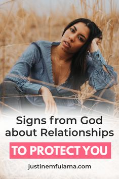 What are the signs god is protecting you from a bad relationship? In this post, I explain how to know if god wants you to be with someone. These tips will help you discern better and understand the signs god is leading you to the one. #datingadviceforwomen #christiandating #adviceforsingles