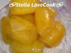 Τέλειο Περγαμόντο(Γλυκό του κουταλιού περγαμόντο)Perfect Bergamot(Dessert bergamot)/Stella Love Cook - YouTube Homemade Sweets, Greek Cooking, Marmalade, Cantaloupe, Make It Simple, Pineapple, Fruit, Easy, Food