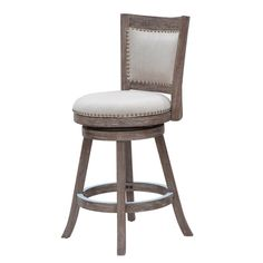 Melrose Swivel Counter Stool with Back