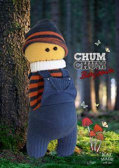 Sock Doll CHUM CHUM -- Benjamin