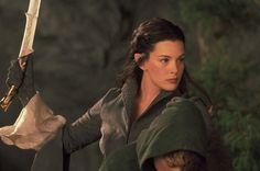 "Liv Tyler as Arwen Undomiel. Arwen means ""noble maiden"" Liv Tyler, Steven Tyler, Beau Film, Fellowship Of The Ring, Lord Of The Rings, Aragorn Et Arwen, Tauriel, Elf Images, Pictures Images"