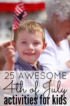 If you're looking for boredom busters to keep your kids busy now that school's officially out for summer, check out this awesome collection of patriotic fourth of July activities for kids!