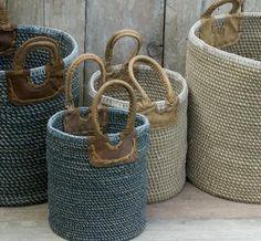 Indra Coil Baskets from Nkuku via http://verykerryh.blogspot.co.uk/