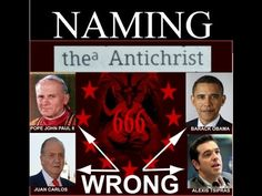 Publicly Naming the Antichrist  ~ Bible Prophecy News & Analysis with Erika Grey