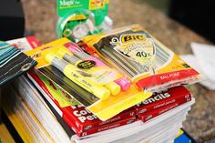 Drop off school supply donations TODAY at Walmart, 5550 East Woodmen Road, Colorado Springs 80920. Falcon residents, it's your turn tomorrow: 11550 Meridian Market View, Falcon 80831.