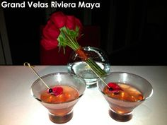 KiwiCarrie: Roses to go with the Signature Rose Margarita at Grand Velas Riviera Maya. http://www.kiwicollection.com/hotel-detail/grand-velas-riviera-maya