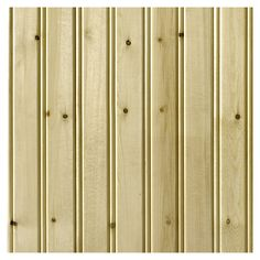 Empire Company 3.5625-in x 2.67-ft Edge and Center Bead Raw Pine Wood Wainscot Wall Panel