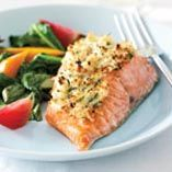 Horseradish-Crusted Wild Pacific Salmon